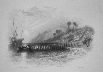 The Landing of Columbus. 1833