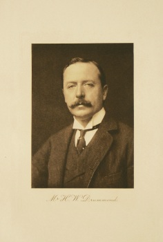 Mr. H. W. Drummond. 1912