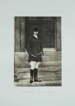 Colonel Courtenay Morgan. 1912