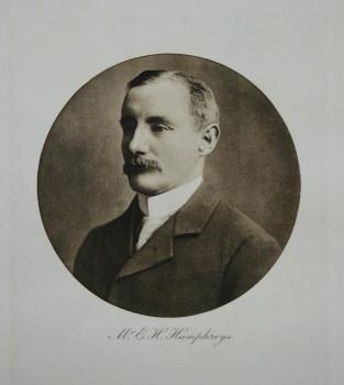Mr. E. H. Humphreys. 1912