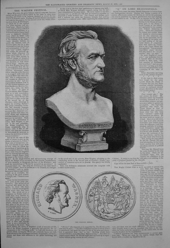 The Wagner Festival. 1876
