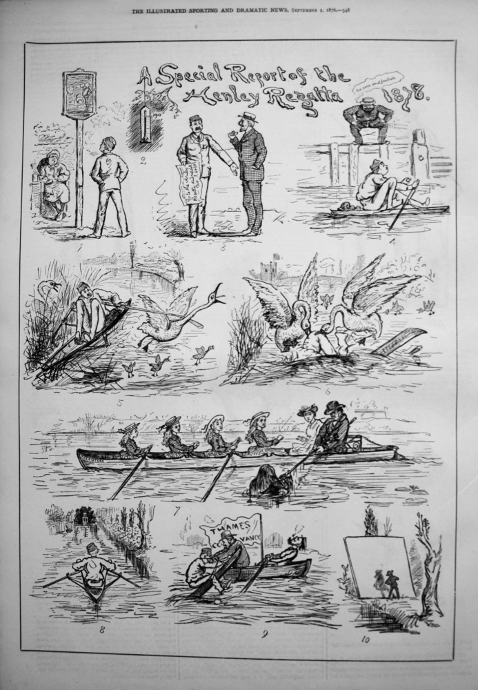 A Special Report of the Henley Regatta 1876.