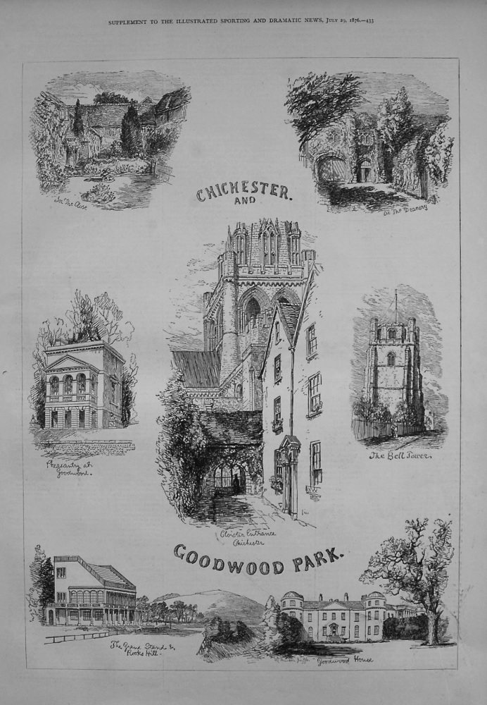Chichester and Goodwood Park. 1876