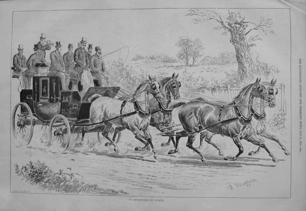 To Guildford by Coach. 1876