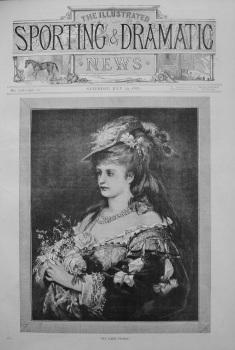 """""""My Lady Flora."""" 1876"""
