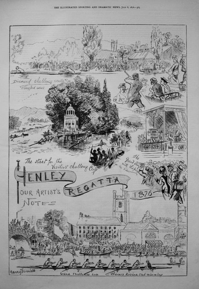 Henley Regatta. 1876.