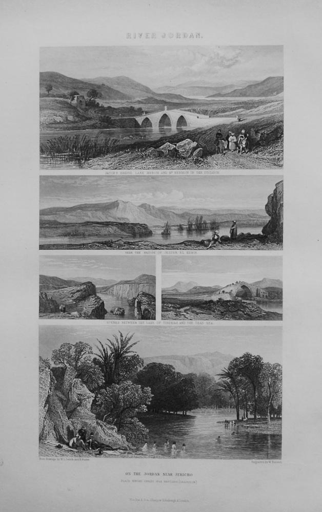 River Jordan. 1862