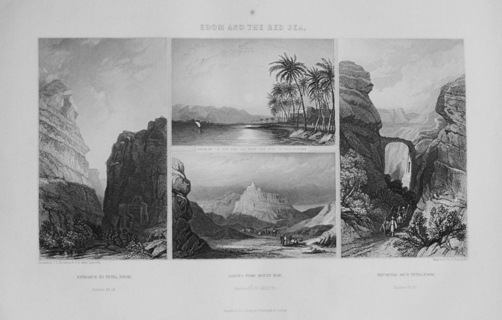 Edom and the Red Sea. 1862