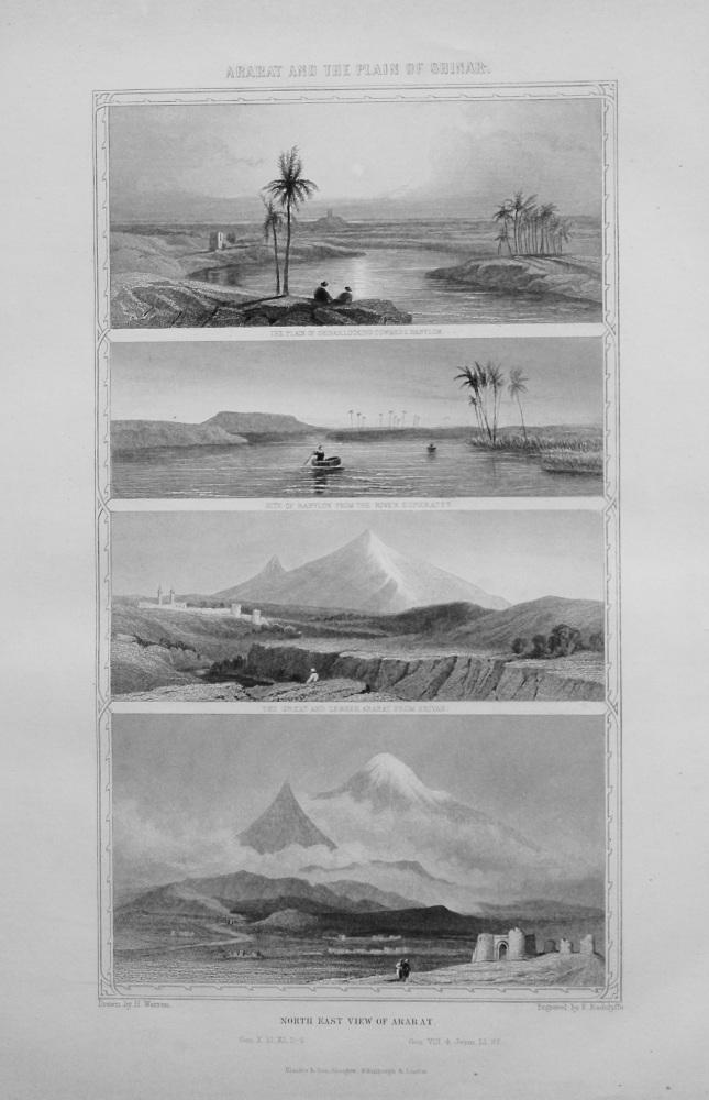 Mount Ararat and the Plain of Shinar.