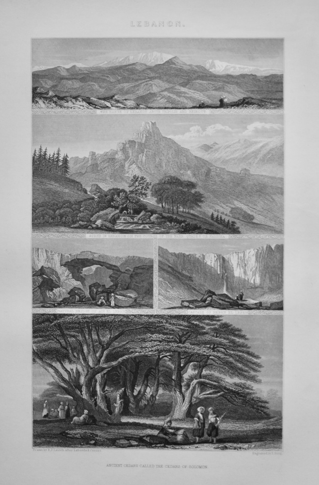 Lebanon. 1862.