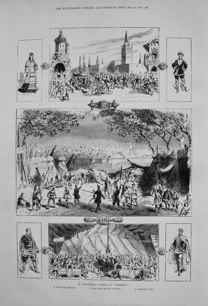"M. Joncieres' Opera of ""Dimitri."" 1876"