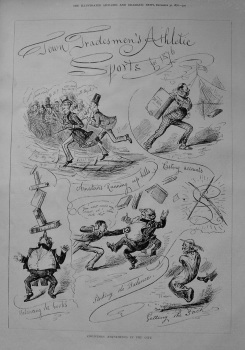 Town Tradesmen's Athletic Sports for 1876.