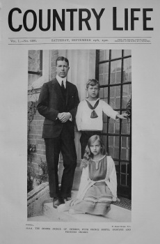 Country Life. September 24th, 1921