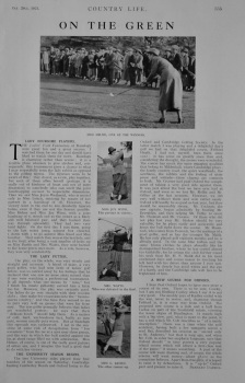 Golfing Articles by Bernard Darwin.