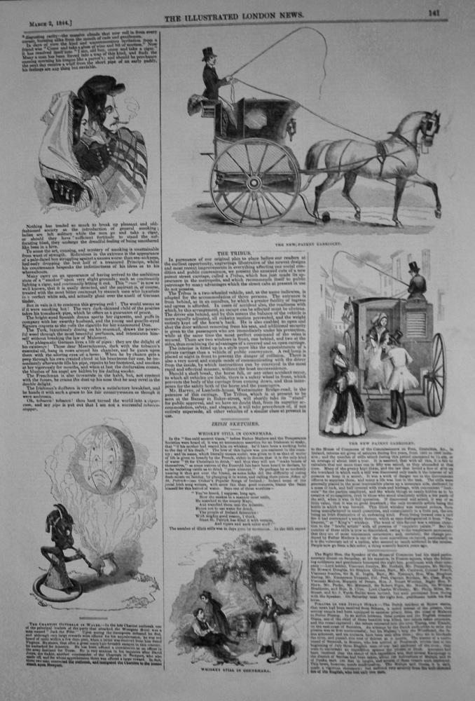The Tribus. (New Patent Cabriolet) 1844.