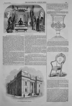 Chair Presented to the Prince of Wales. 1844