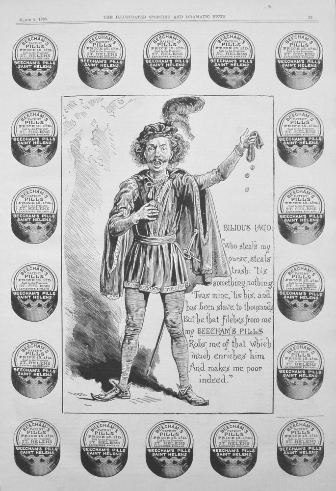 Beecham's Pills. 1895