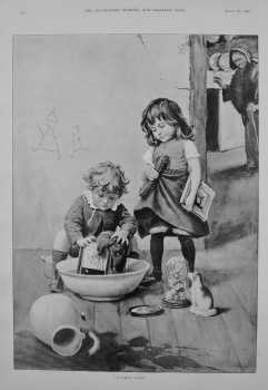 """""""A Spring Clean."""" 1895"""