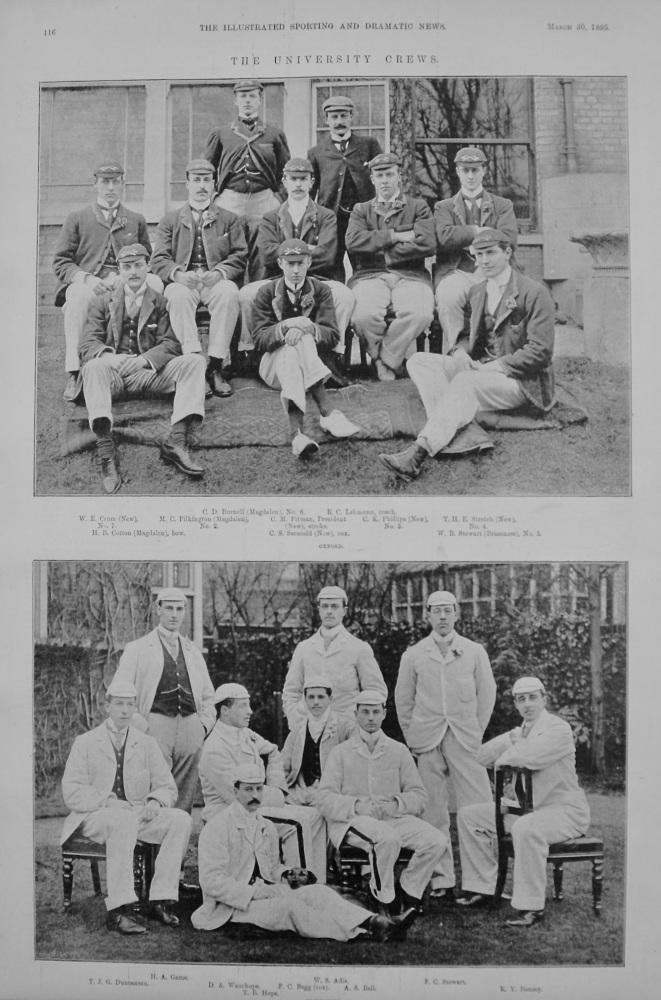 The University Crews. 1895