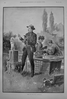Toby on Tour - The Understudy. 1895
