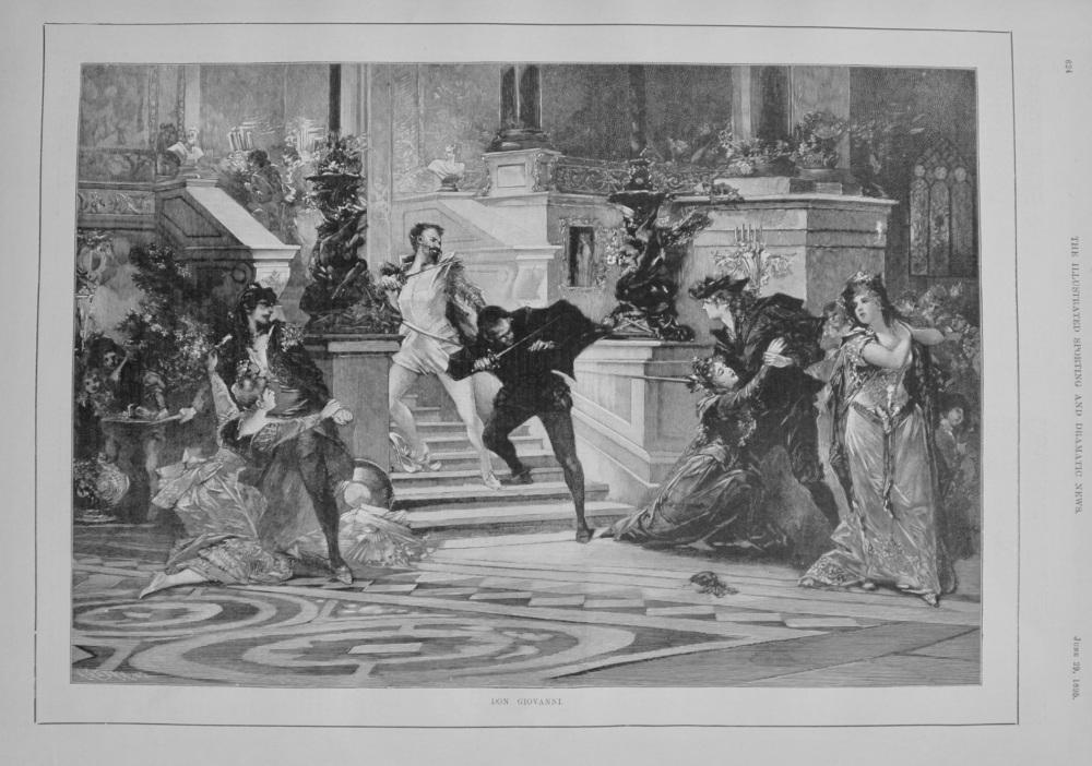 Don Giovanni. 1895