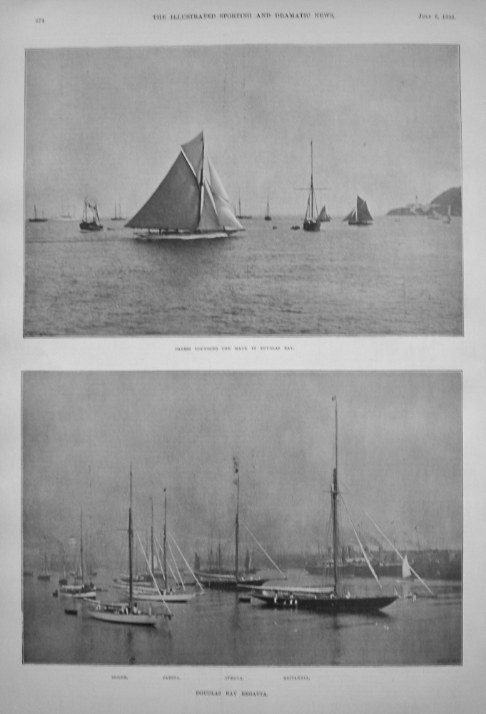 Douglas Bay Regatta. 1895