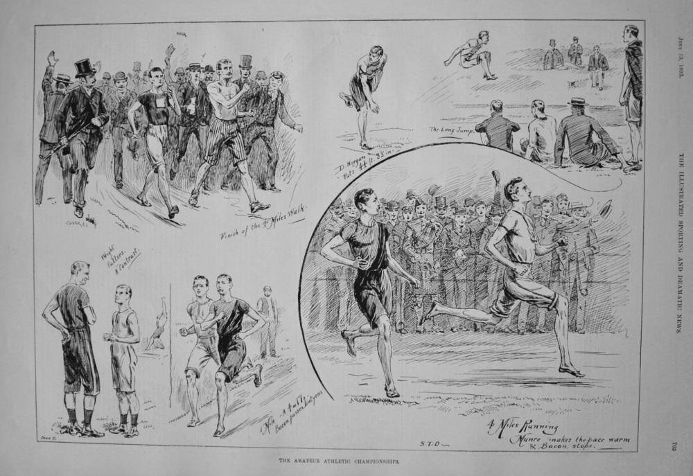 Amateur Athletic Championships. 1895