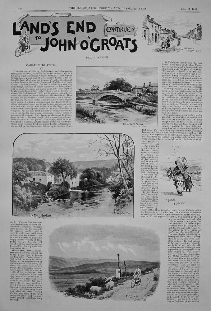 Land's End to John O'Groats (Cont.) - IV. Carlisle to Perth. 1895