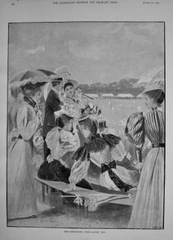 The Canterbury Week - Ladies Day. 1895