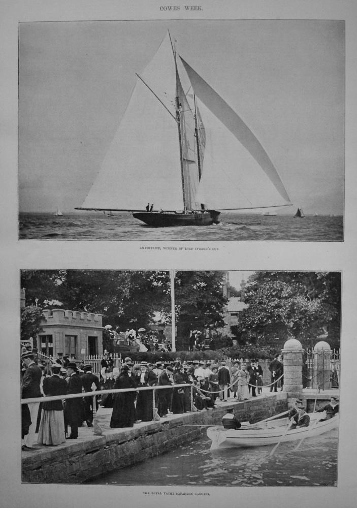 Cowes Week. 1895
