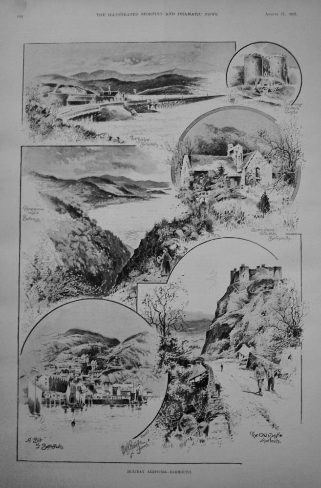 Holiday Sketches - Barmouth. 1894