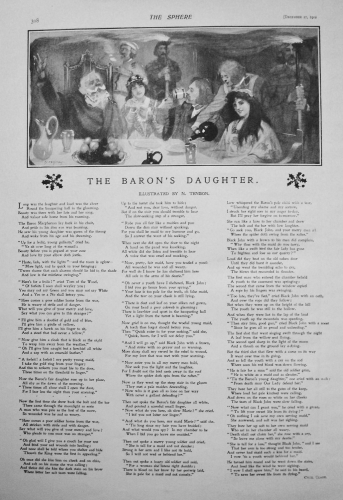 The Baron's Daughter. 1902