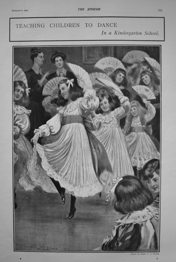 Teaching Children to Dance in a Kindergarten School. 1902