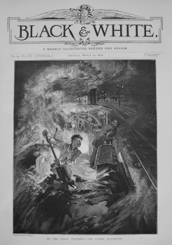 """On the Great Western - """"The Flying Dutchman"""" 1892"""