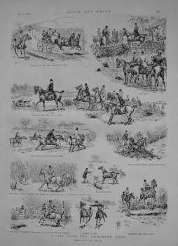 A Day with the Badminton Hunt. 1892