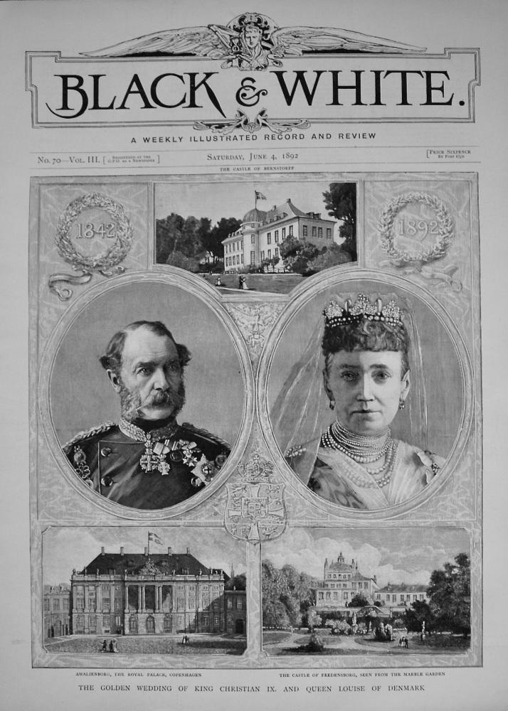 Black & White. June 4th, 1892.