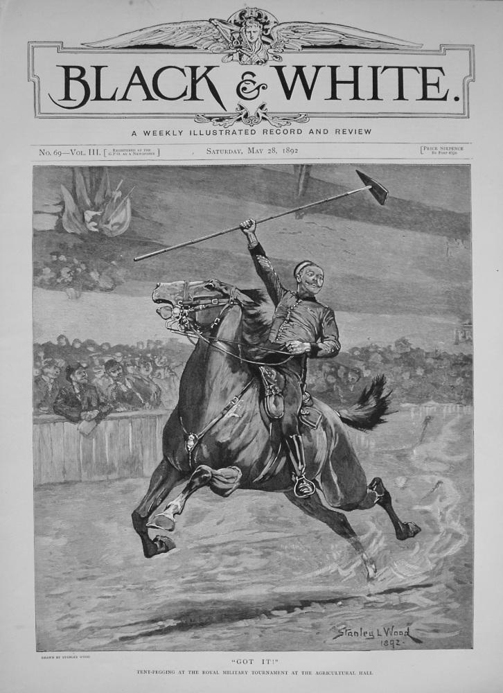 Black & White. May 28th, 1892