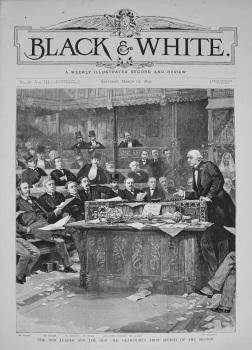 Black & White. March 12th, 1892.