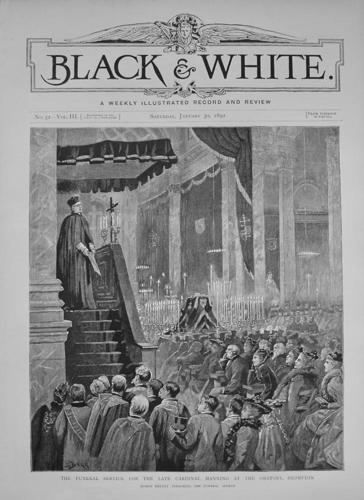 Black & White. January 30th, 1892