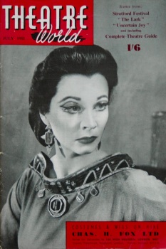 Theatre Word, July 1955.