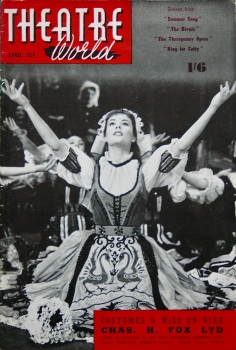 Theatre World, April 1956.