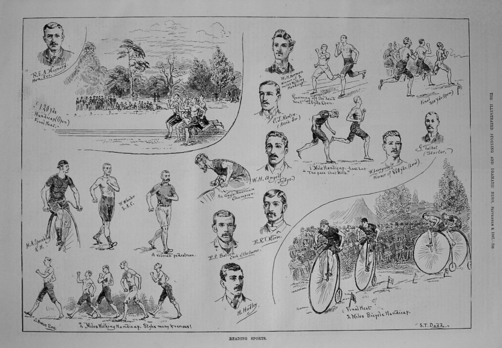 Reading Sports. 1887