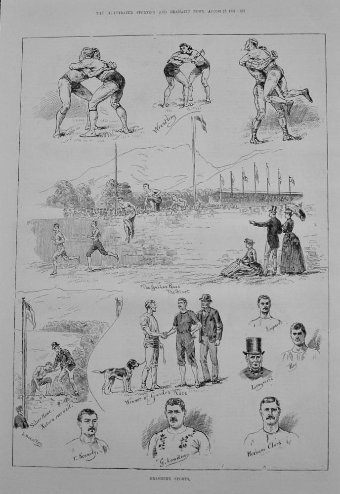 Grasmere Sports. 1887