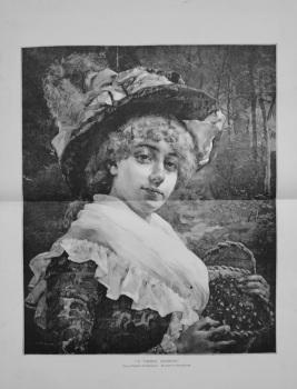 """""""A Cherry Duchess."""" 1887"""