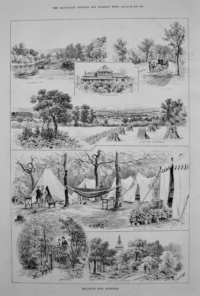 Bellaggio, East Grinstead. 1887