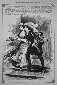 Ellis Davies & Co. - Tea Tasting. 1887