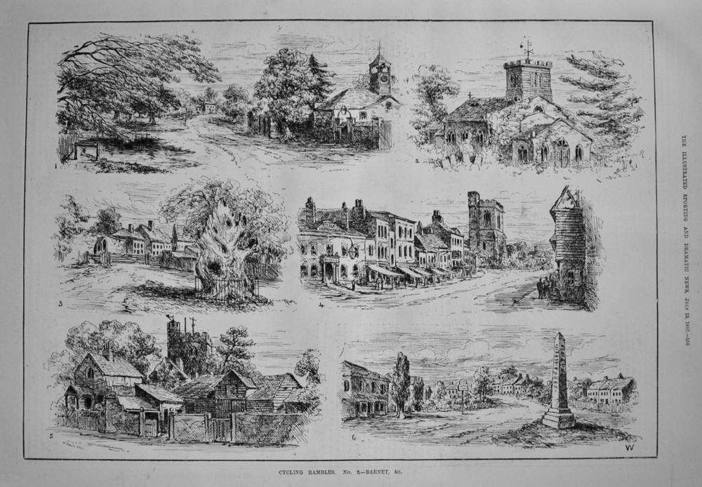 Cycling Rambles. No. 9. - Barnet, &c. 1887