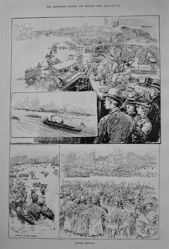 Henley Regatta. 1887