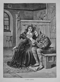 """""""A Fool's Advice."""" 1887"""