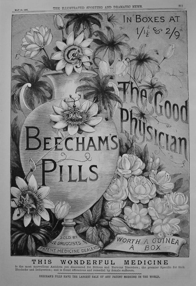 Beecham's Pills. 1887